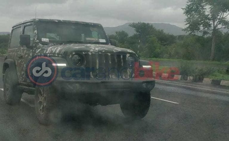 Jeep Wrangler Spied in India Ahead of Launch on August 9!
