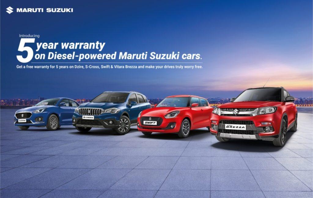 Maruti Diesel Engine Warranty image