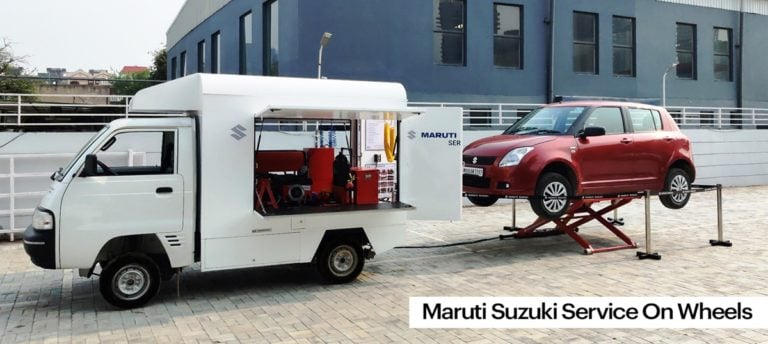 Maruti Suzuki introduces Service on Wheels to bring Doorstep Service!