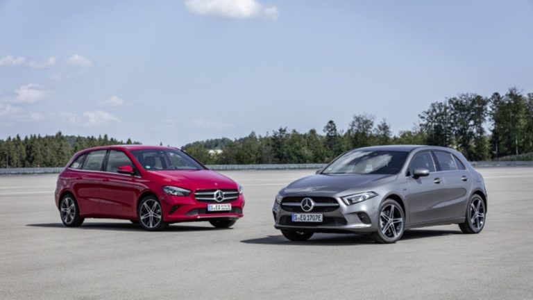 Mercedes-Benz introduces A250e and B250e Pkug-in Hybrid Variants!