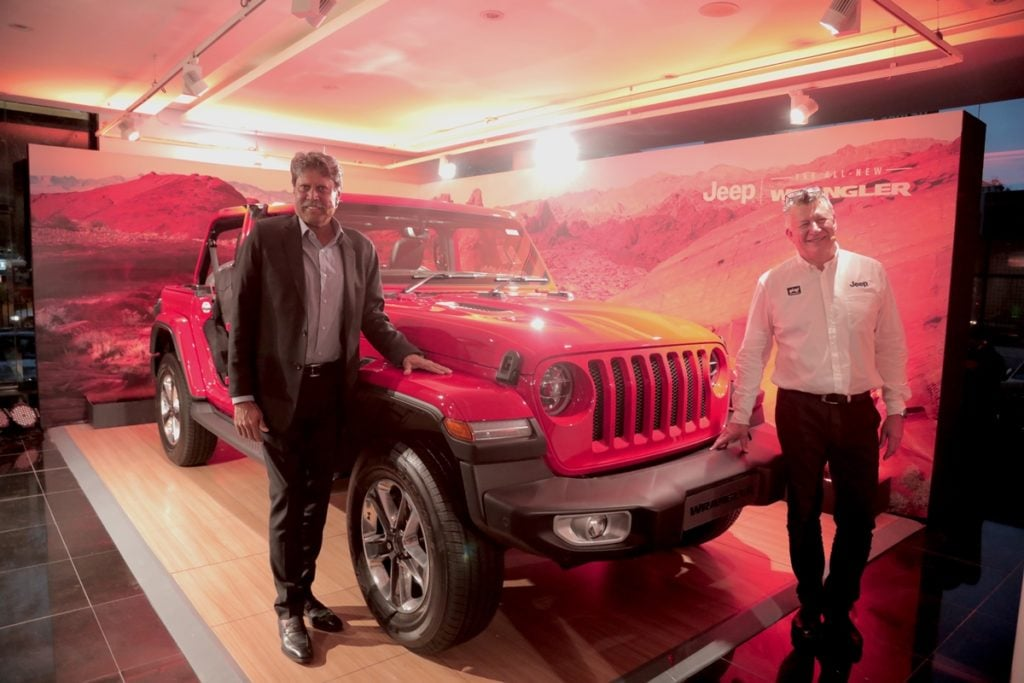 Jeep Wrangler launched in India at Rs. 63.94 lakhs, ex-showroom