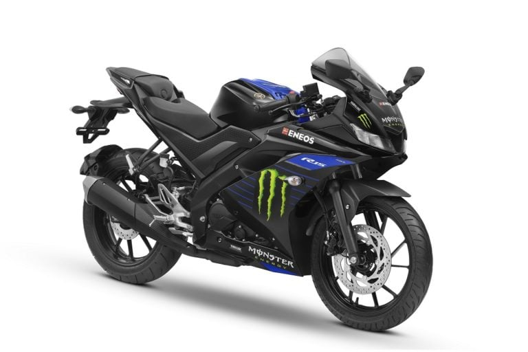 Yamaha R15 V3 Now Available In Monster Energy Moto GP Edition!