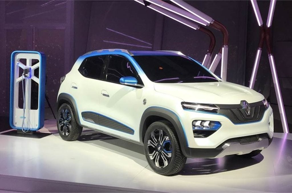 Renault will also debut the Kwid electric at the 2020 Auto Expo.