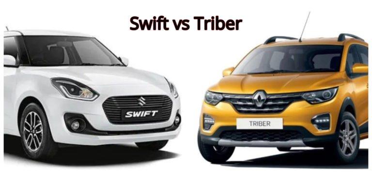 Renault Triber vs Maruti Suzuki Swift – Specification Comparison