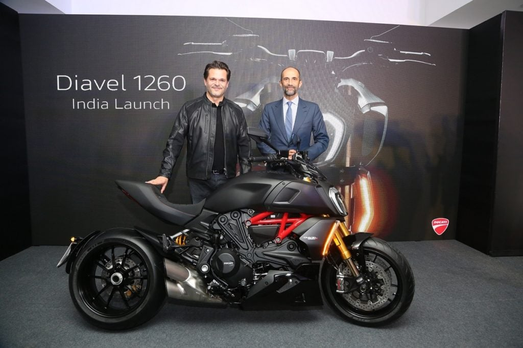 New 2019 Ducati Diavel 1260 and the Diavel 1260 S in India at Rs 17.70 lakh and Rs 19.25 lakh, respectively.
