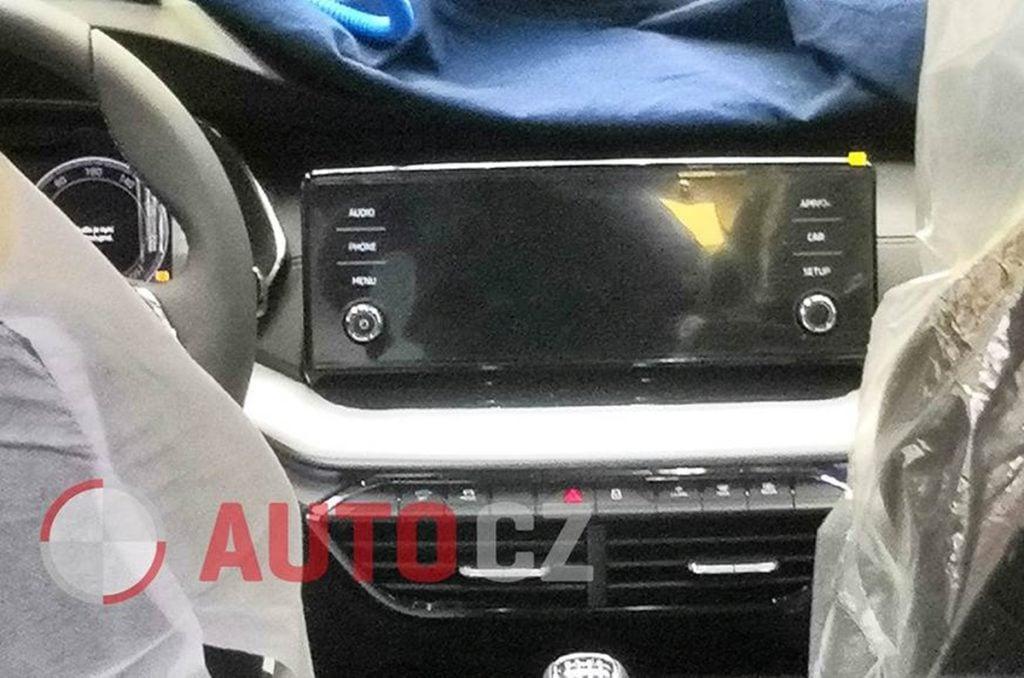Next-gen Skoda Octavia interiors leaked