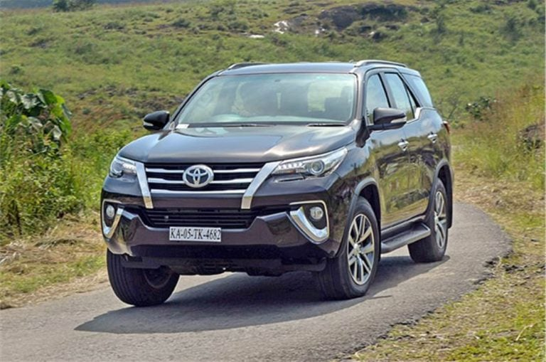 BS-6 Toyota Fortuner, Innova Crysta Bookings to Start from January Second Week