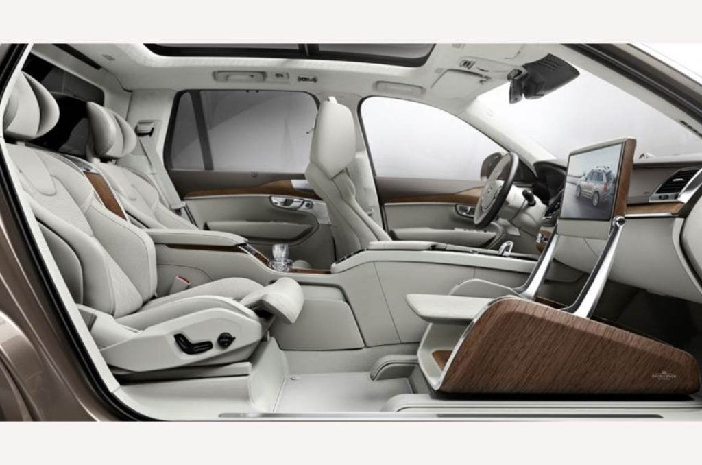 Volvo XC90 Excellence Lounge Console India Launch image