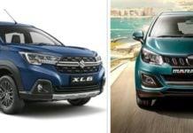 Maruti Suzuki XL6 vs Mahindra Marazzo image