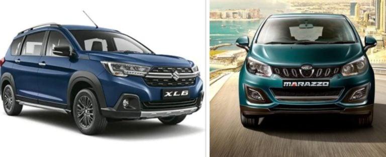 Maruti Suzuki XL6 vs Mahindra Marazzo – Specification Comparison