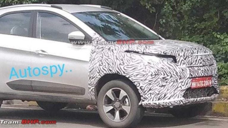 Electric Tata Nexon Spied Testing; Will Be Launched In 2020