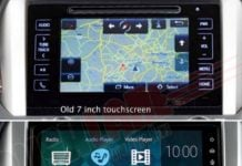 Toyota Fortuner Innova touchscreen image