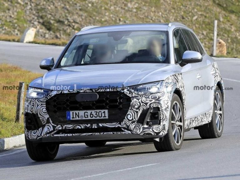 2020 Audi Q5 facelift Spotted Testing for the First Time Internationally!