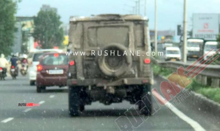 2020 Force Gurkha Spied In Camouflage – Spy Shots
