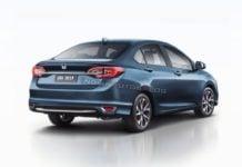 2020 Honda City Rendered Image