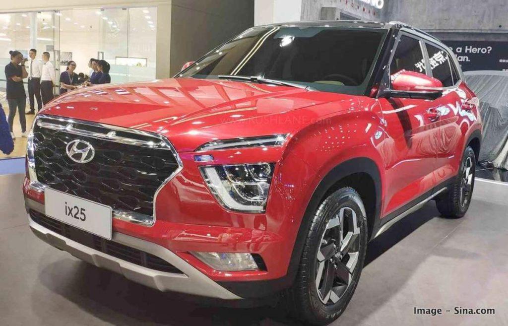 2020 Hyundai Creta Facelift Image