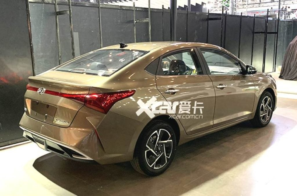 2020 hyundai verna facelift images leaked india launch