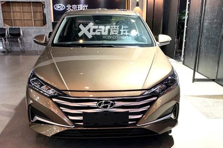 2020 Hyundai Verna Facelift Images Leaked