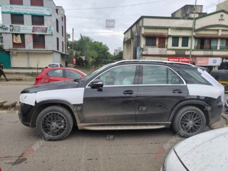 2020 Mercedes GLE Spotted In India; Launch Within Few Months