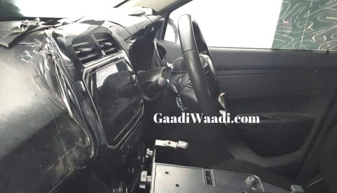 Interiors Of New Renault Kwid Facelift Spied – Photos
