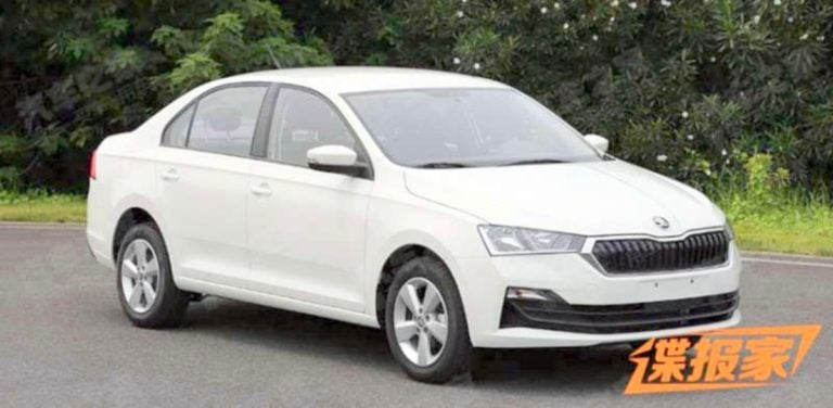 New 2020 Skoda Rapid Spied; Might Head Over To India