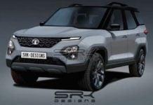 2020 Tata Safari Rendered Image