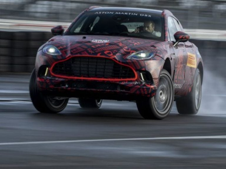 Aston Martin Confirms the DBX will be powered by an AMG V8 Engine!