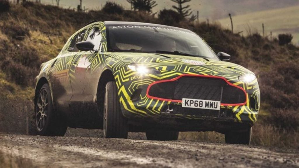 But here's the Aston Martin DBX headed your way this December and you sure are excited!