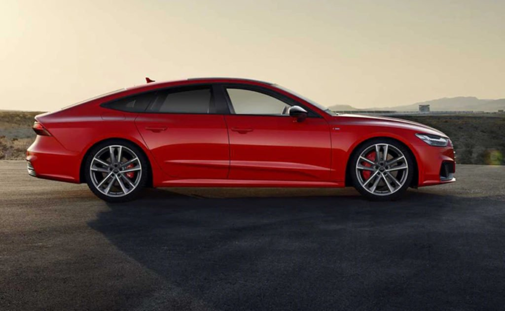 The A7 Plug-in hybrid continues with the classic sportback design, of course with newer design elements