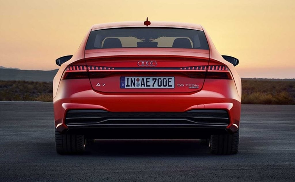 The A7 is now in-line with the rest of family design of Audi sedans