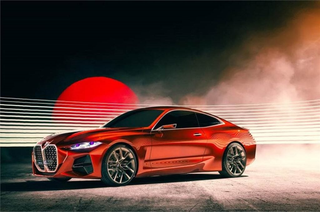 BMW Concept 4 Series Coupe unveiled at Frankfurt