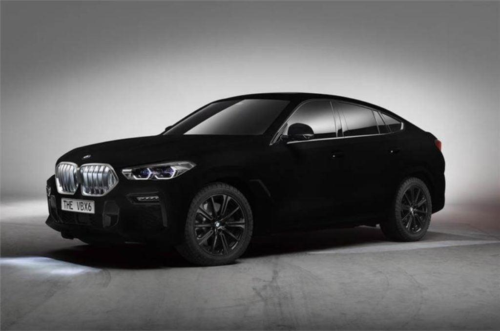 BMW X6 Vantablack image
