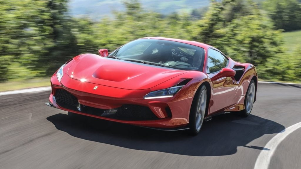 The mighty Ferrari F8 Tributo is headed on its way to India