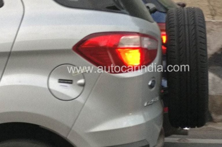 Ford Ecosport BS6 Spotted; Only the 1.5L Petrol & Diesel To Be Upgraded