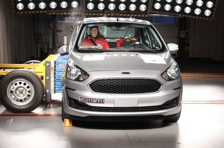India Made Ford Figo And Aspire Gets 4-Star Safety Rating By Latin NCAP