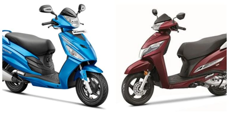 Honda Activa 125 BS-6 FI Vs Hero Maestro Edge 125 FI – Spec Comparison