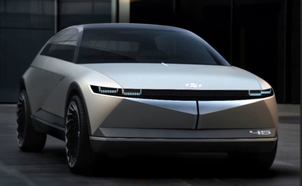 Hyundai 45 Concept unveiled at Frankfurt Motor Show