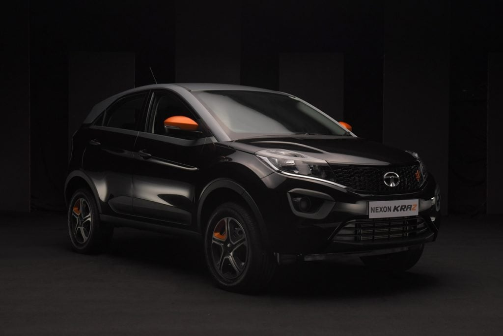 Limited edition Tata Nexon KRAZ edition launched