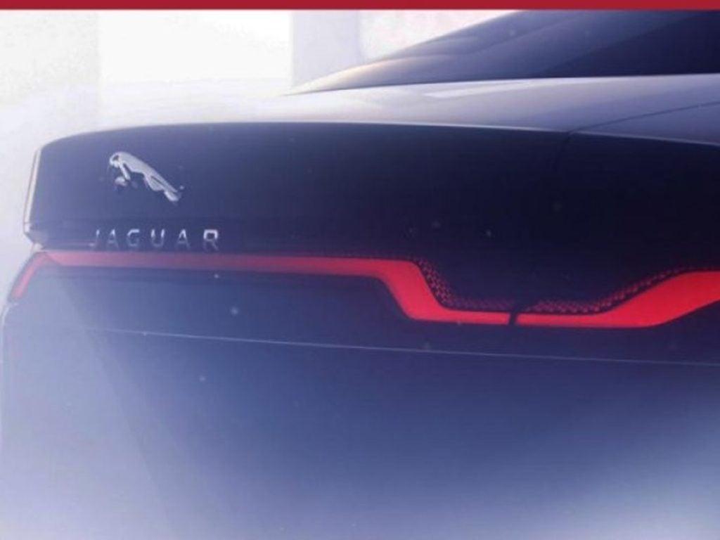 Jaguar has teased the next-gen all electric XJ at the Frankfurt Motor Show