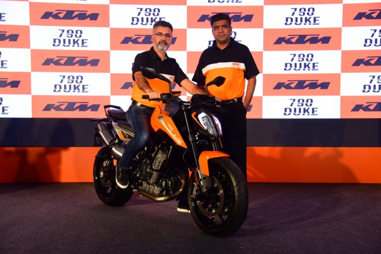 KTM 790 Duke Launched In India – Price And Details