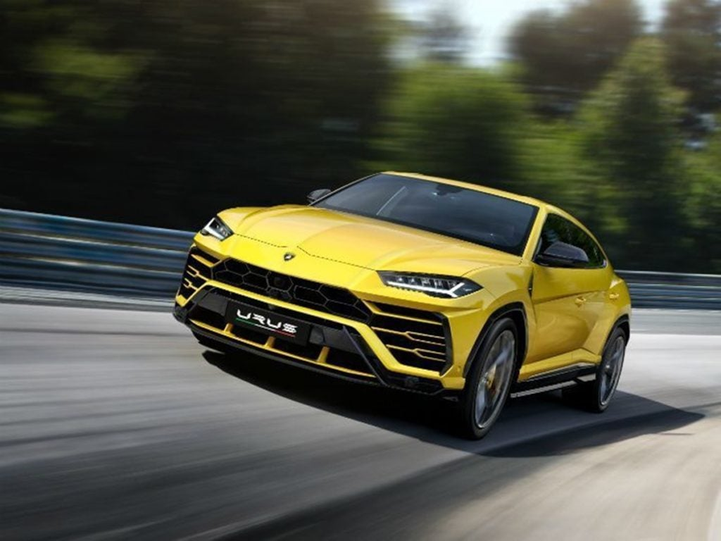 The Lamborghini Urus has a mileage of just 2.4 kmpl