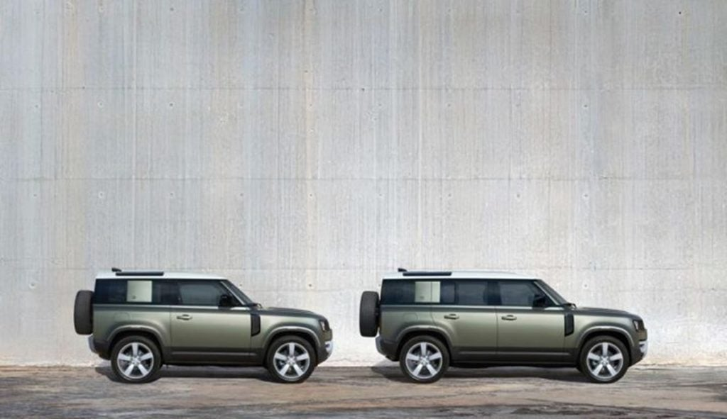 The Defender is available in a three-door and a five-door variant