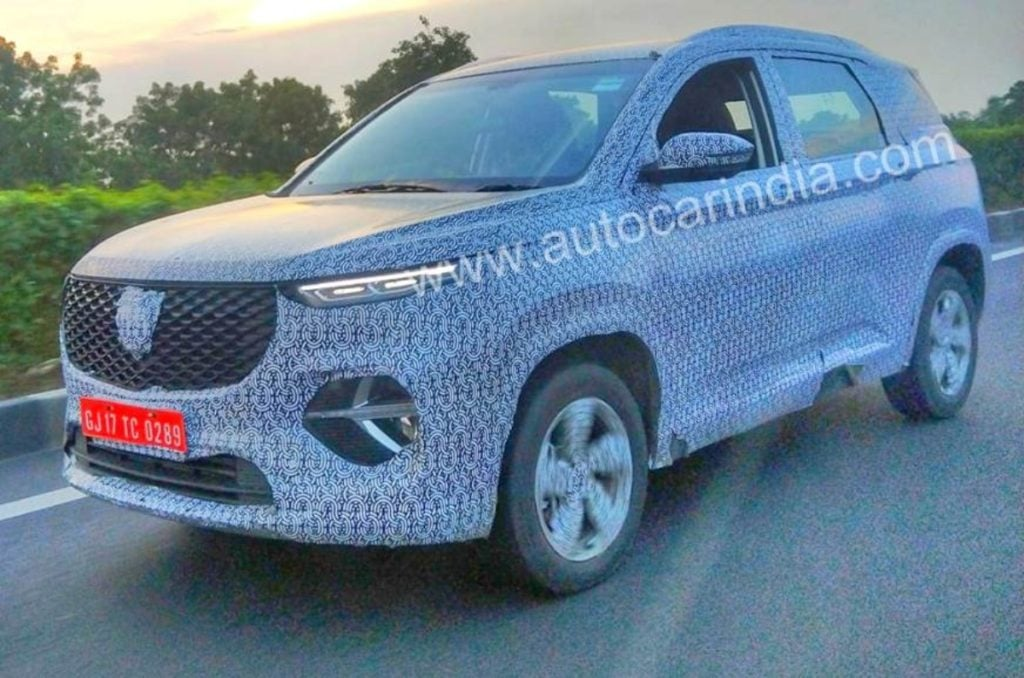 MG Hector 6 Seater Image