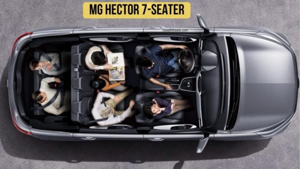 The MG Hector seven seater is very important among upcoming cars at 2020 Auto Expo.