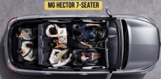 MG Hector 7 seater image