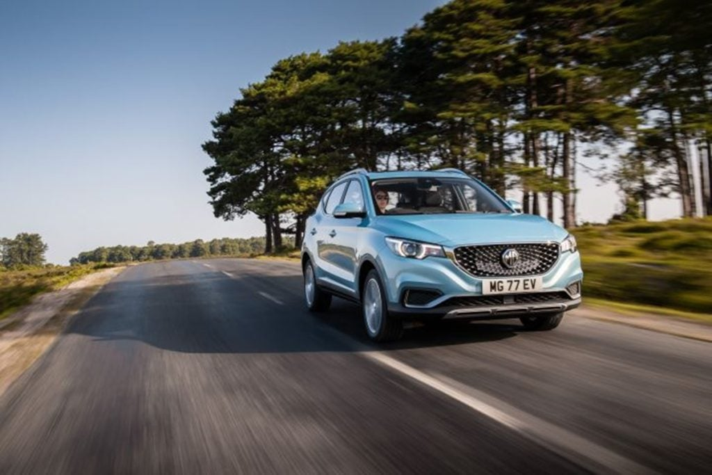 MG Motor's second car for India will be the all electric eZS SUV