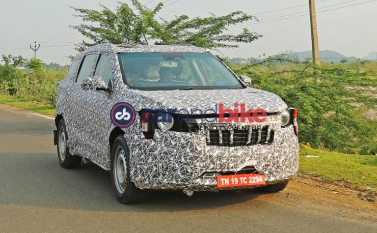 Mahindra XUV400 Codenamed S204 Spied Testing In India