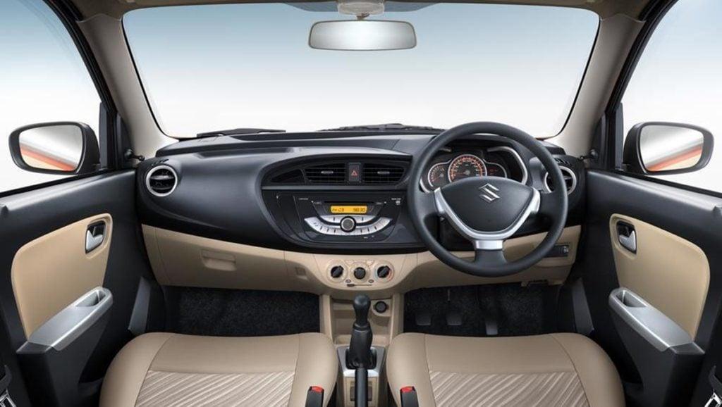 Maruti Suzuki Alto K10 interiors