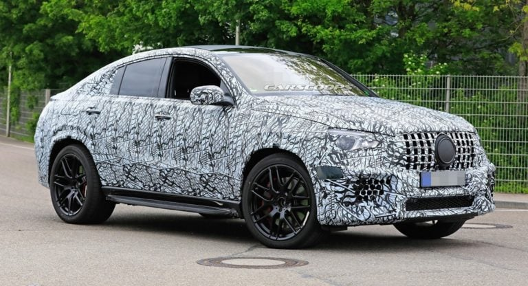 Mercedes spotted testing the GLE 63 Coupe at the Nurburgring!