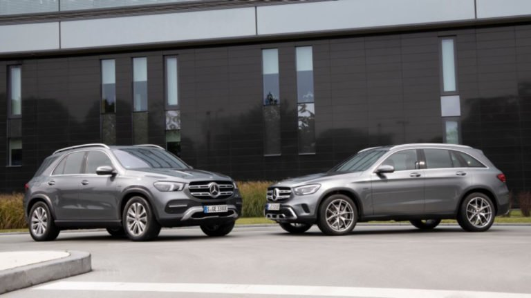 Mercedes-Benz Reveals GLE and GLC Plug-in Hybrid at Frankfurt!